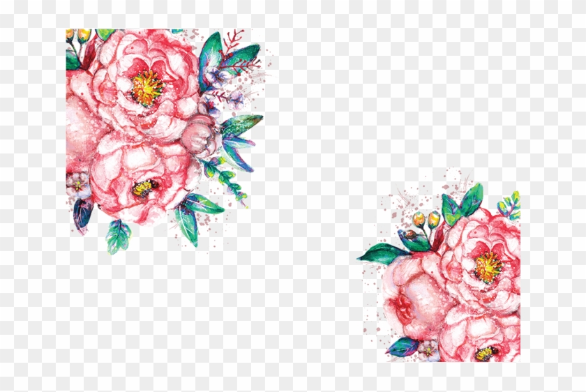 Watercolor Flowers Png Transparent Peoplepngcom - Red ...