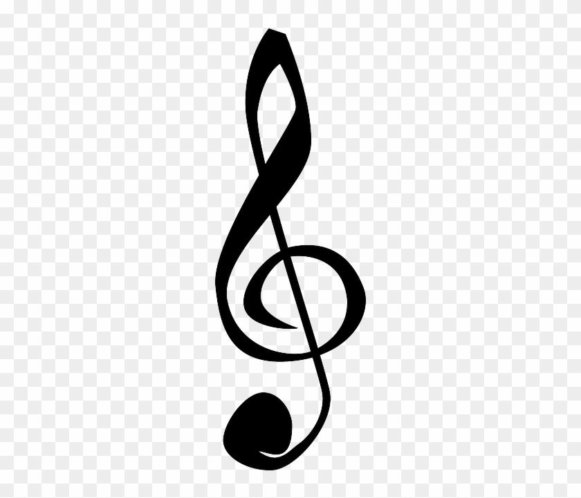 Black Music Note Symbol Cartoon Symbols Bass Music Note