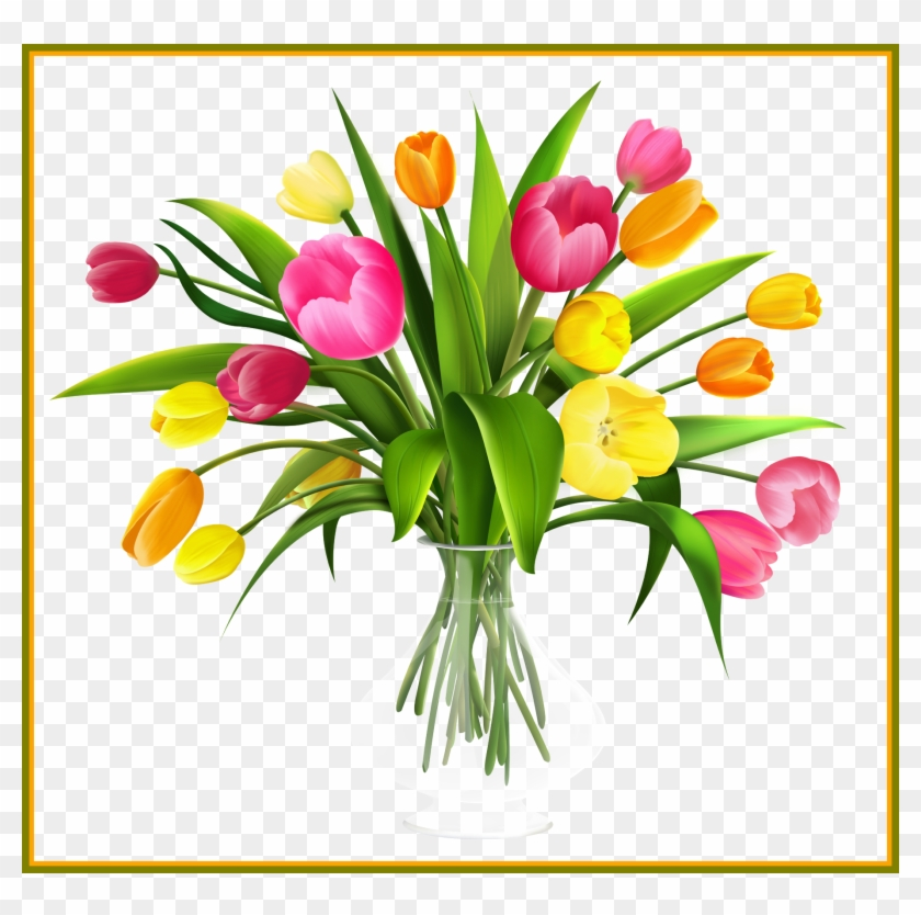 Unbelievable Clip Art In Vase Use These For Your Image Flowers In