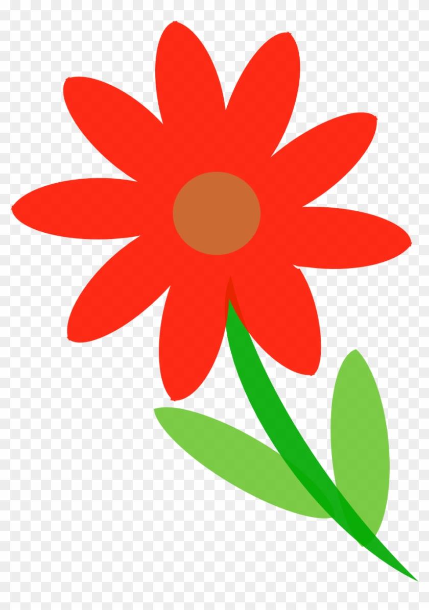 Net Clip Art Kytka Flower Clipartist - Symbol Kytka #60987