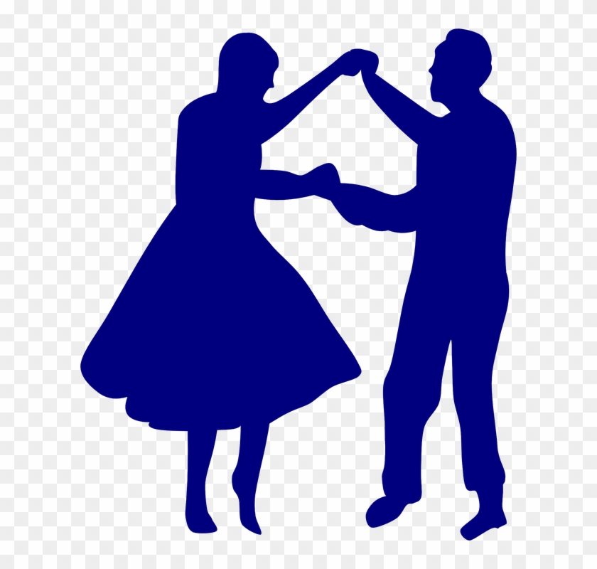 Kopel Clipart Anniversary Couple - Old Woman Dancing Silhouette #61016