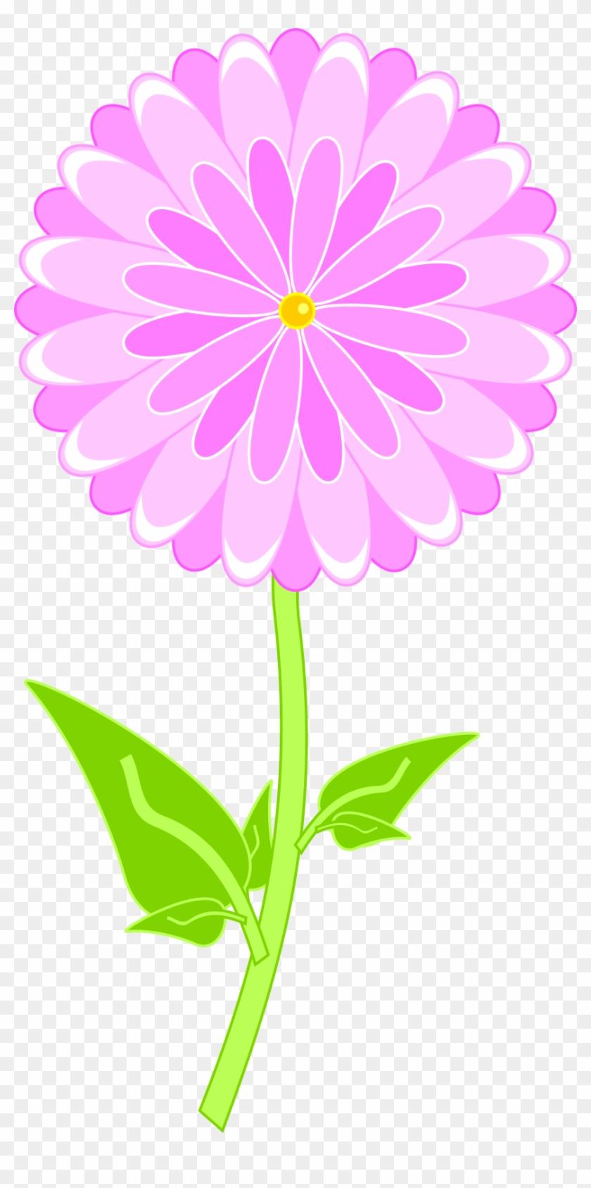 Pink Flower - Stencil #61052