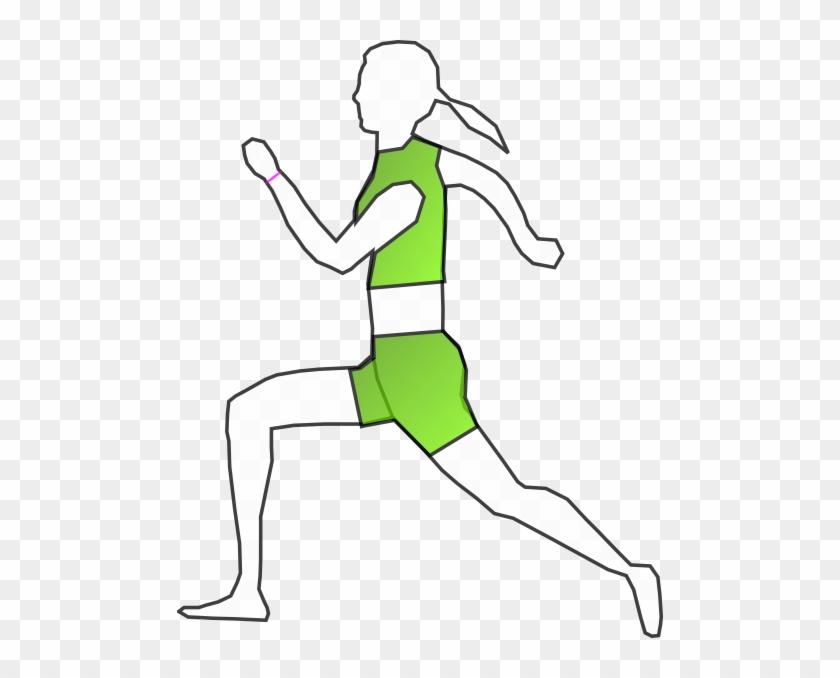 Runner Clip Art - Illustration #61066