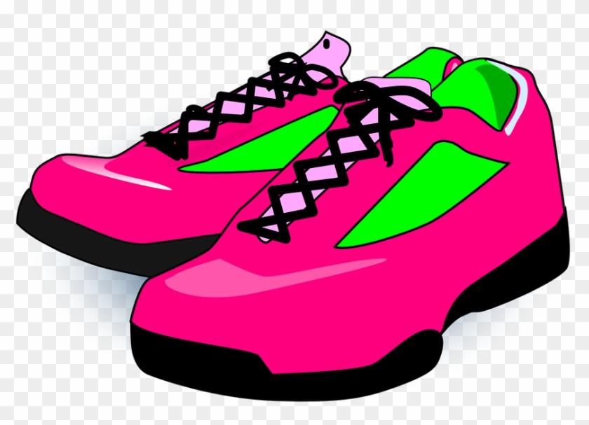 Shoe Box Clipart - Sneakers Clipart #61079
