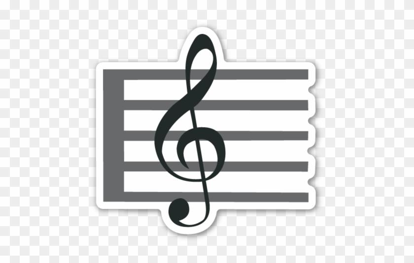 Musical Score - Music Score Emoji #347352