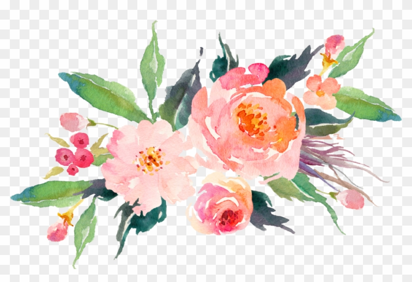 Image Result For Watercolor Floral Image Result For - Watercolor Flower Bouquet Png #348645