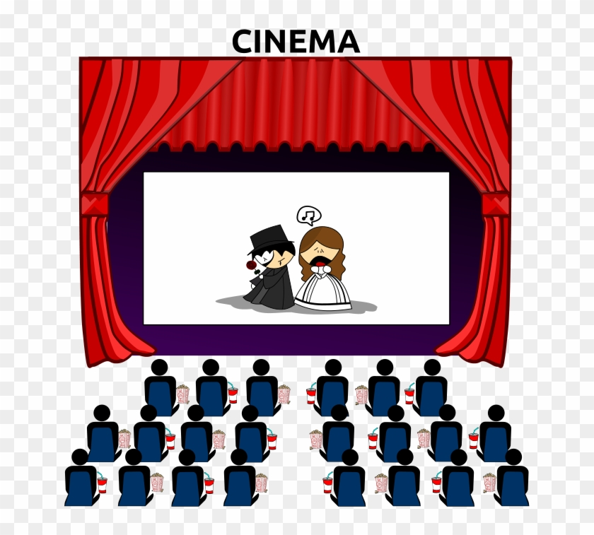 Movie Theater Seats Clip Art See A Movie Cartoon Free Transparent Png Clipart Images Download