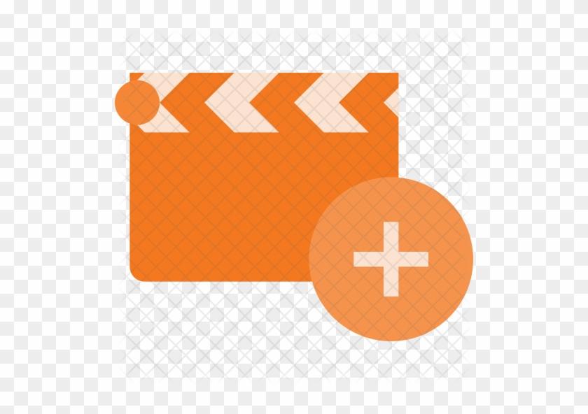 Add Clapper Icon - Movie Download Icon #348775