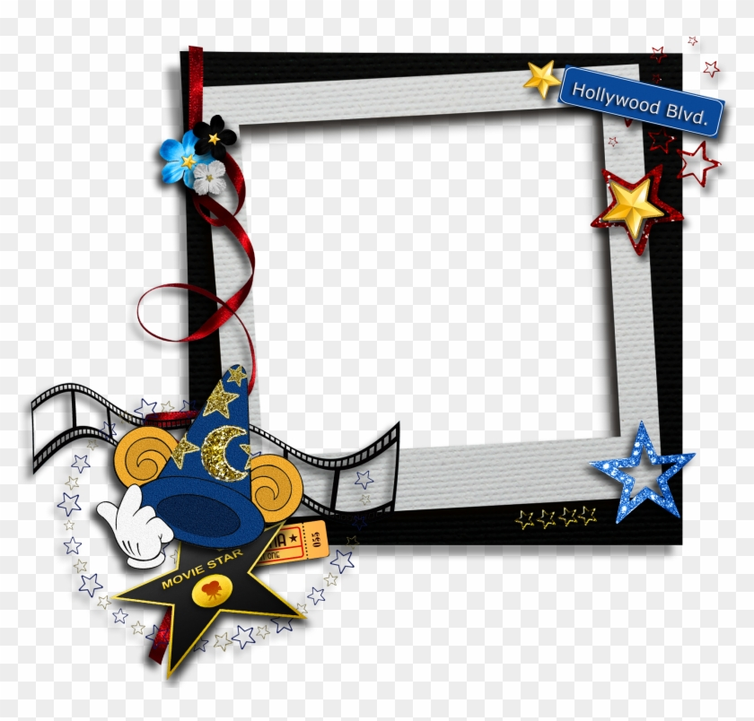 Kids Transparent Movie Star Png Photo Frame - Movie Star Picture Frame #348842