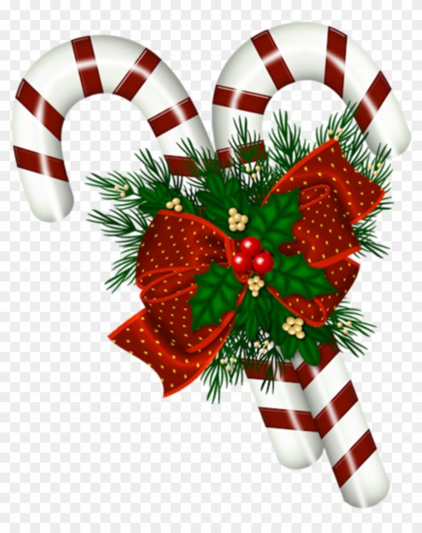 Http - //carolineblue2010 - Eklablog - Com/tubes Noel - Christmas Candy Cane Transparent #349110