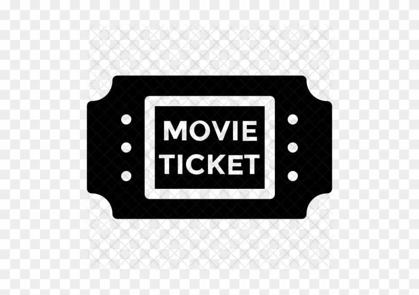 Movie Ticket Icon - Ticket #349269
