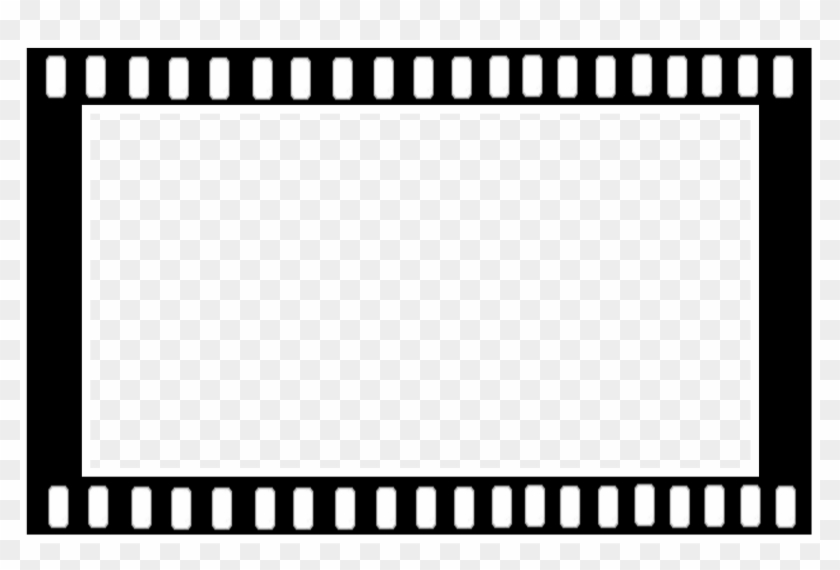 Hollywood Filmstrip Film Frame Clip Art - Film Strip Frame Png ...