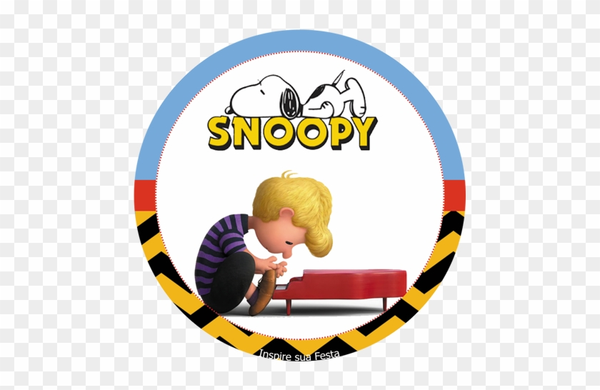 Com/snoopy Kit Festa Gratis/ - Schroeder - The Peanuts Movie Sticker #349523