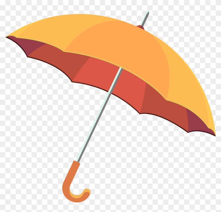 Umbrella Clip Art - Rain Umbrella Vector Free Download #349840