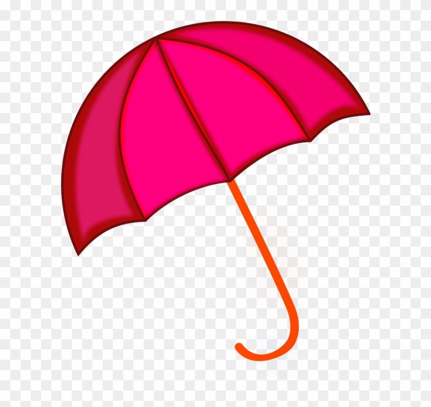 Umbrella Clipart Rain Png Pink Color Umbrella Animated #349862