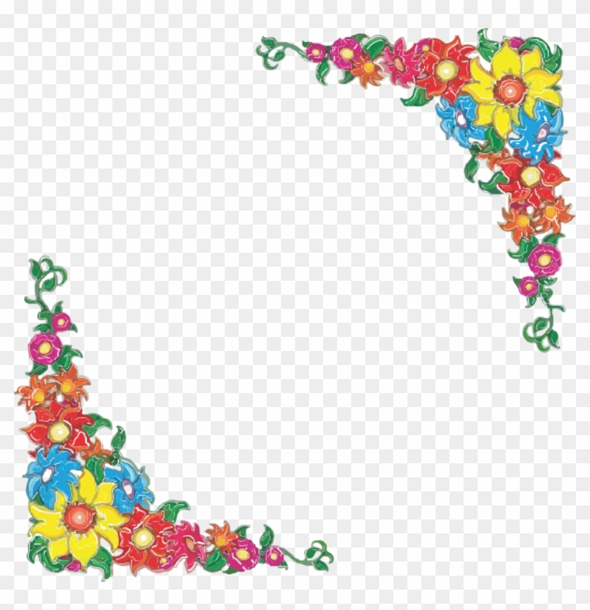 Welcome Border Clipart Cliparthut Free Clipart - Flower Borders Free Clip Art #350054