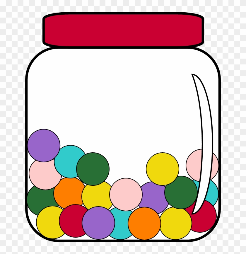 Bathtub Clipart Capacity - Candy In A Jar Clipart - Free Transparent ...