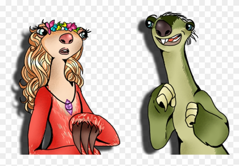Sloth Clipart Sid - Ice Age Sid X Brooke #350235
