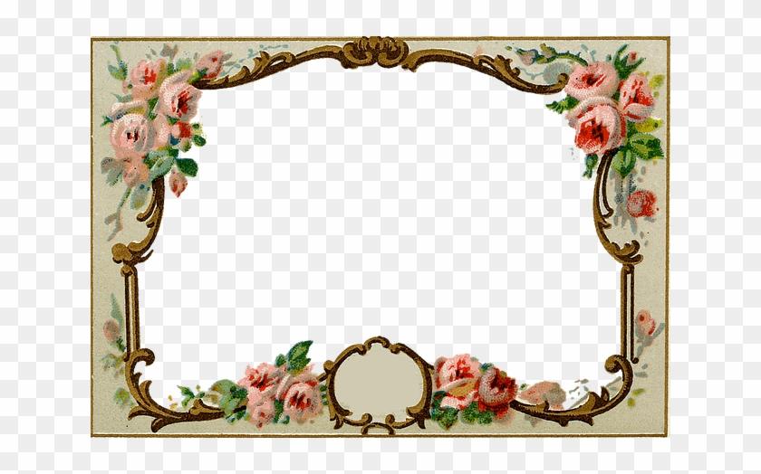 Vintage, Antique, Frame, Ornate, Old, Historic, History - Vintage ...
