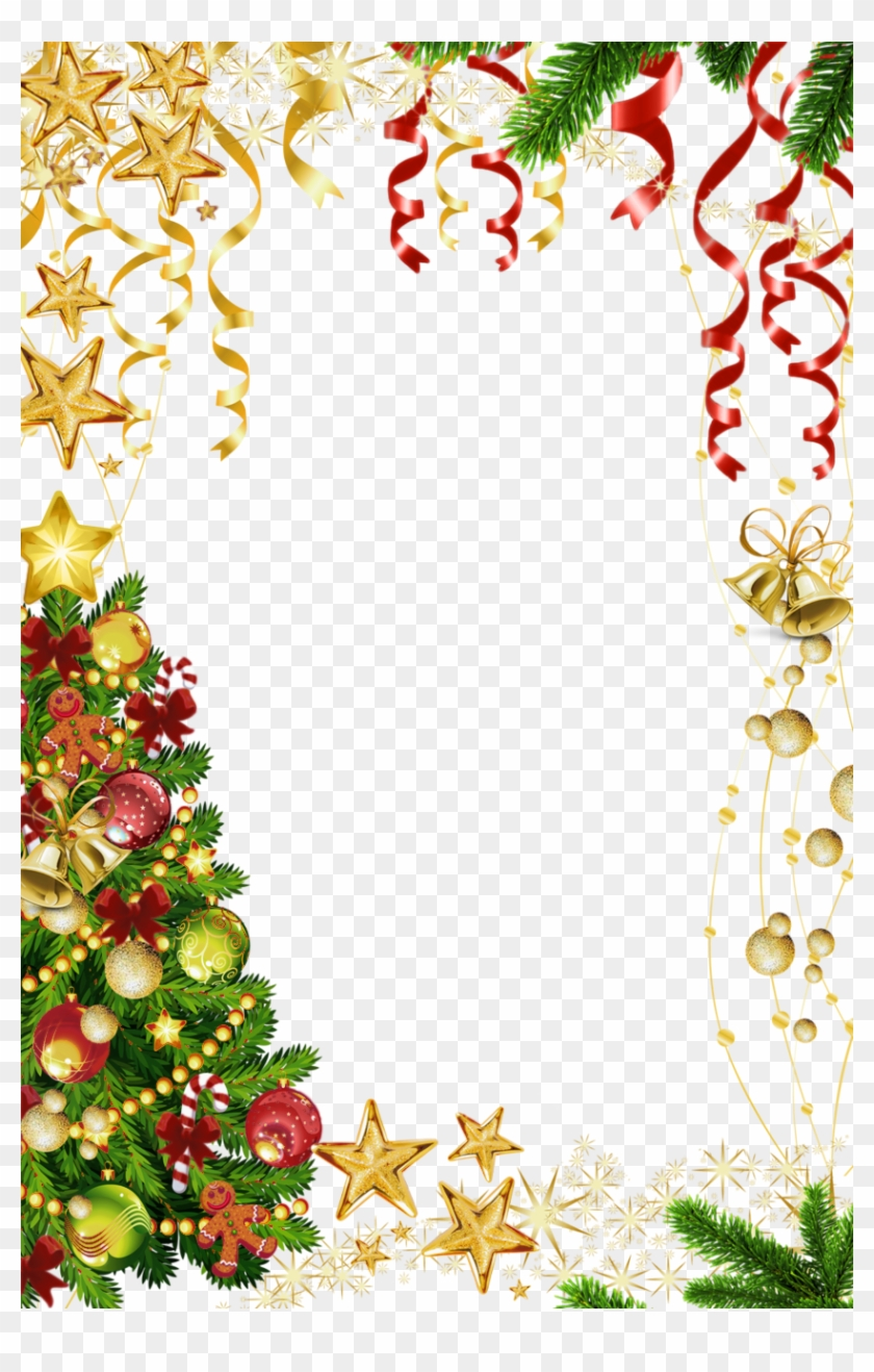 Frame Png Border For Christmas - Fisher-price Thomas The Train ...