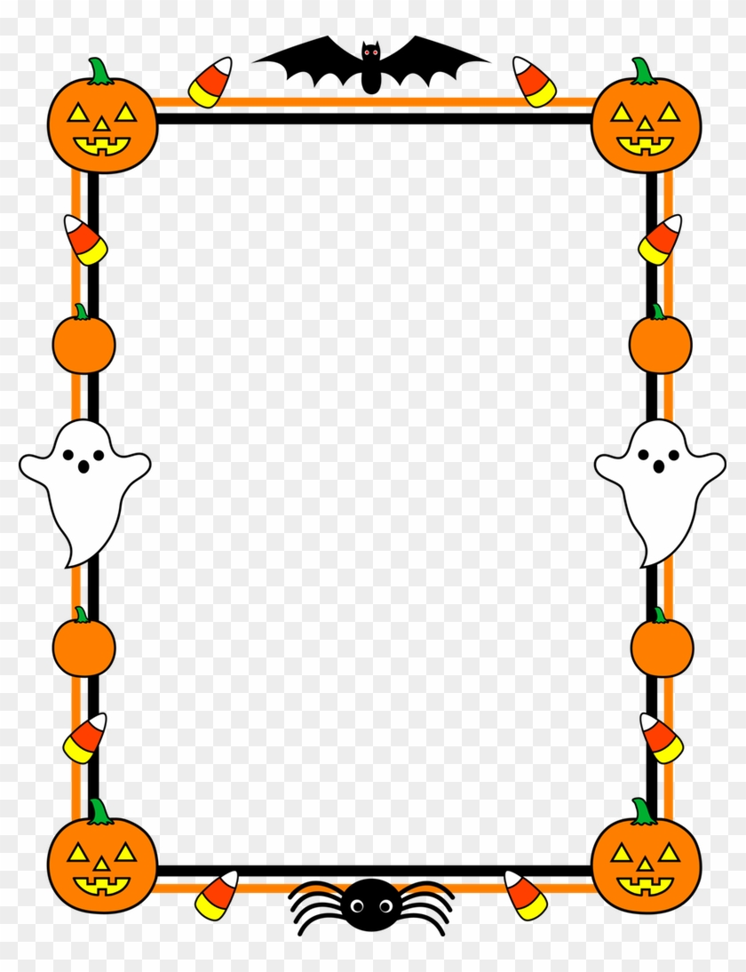 Borders Design For Kids Clipart Best Children Page Halloween Baby