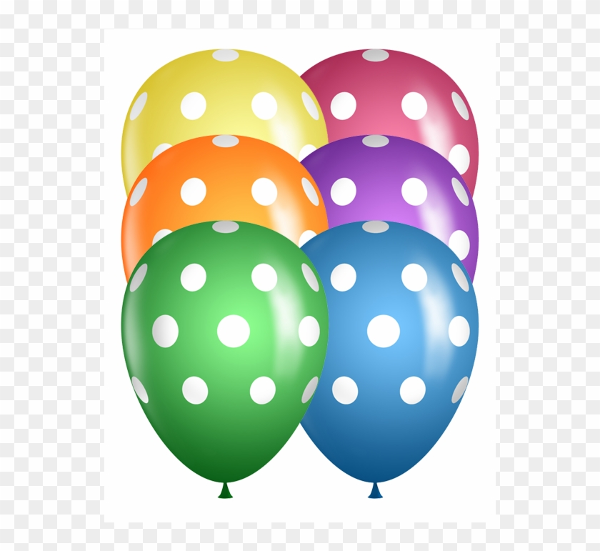 """Mothers Day Petite Polka Dots Assorted Qualatex 11/"""" Latex Balloons x 5"""