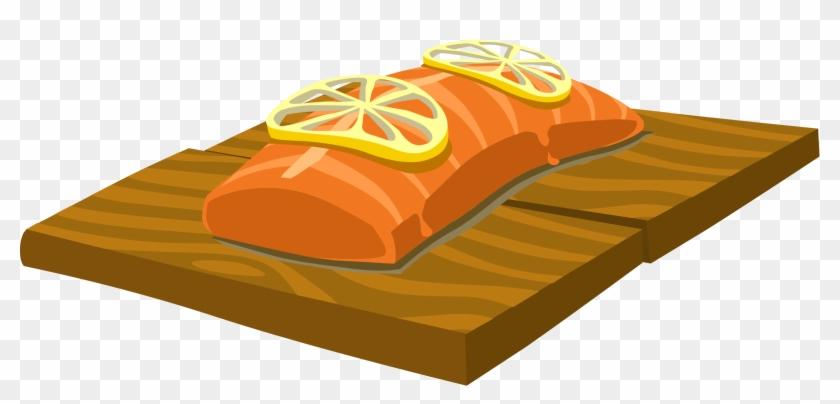 Salmon Food Clip Art #350888