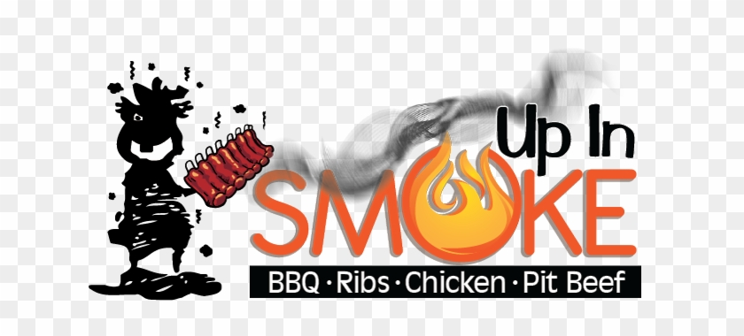 Smoke Bbq Clipart, Explore Pictures - Up In Smoke Bbq #350994