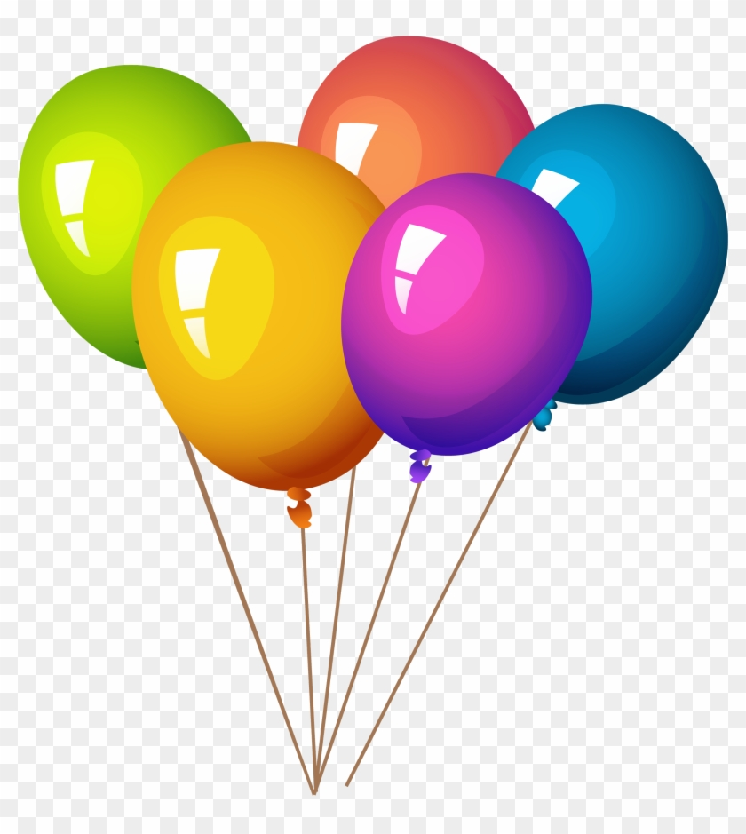 Image Result For Balloons Png - Balloons And Party Poppers #351206