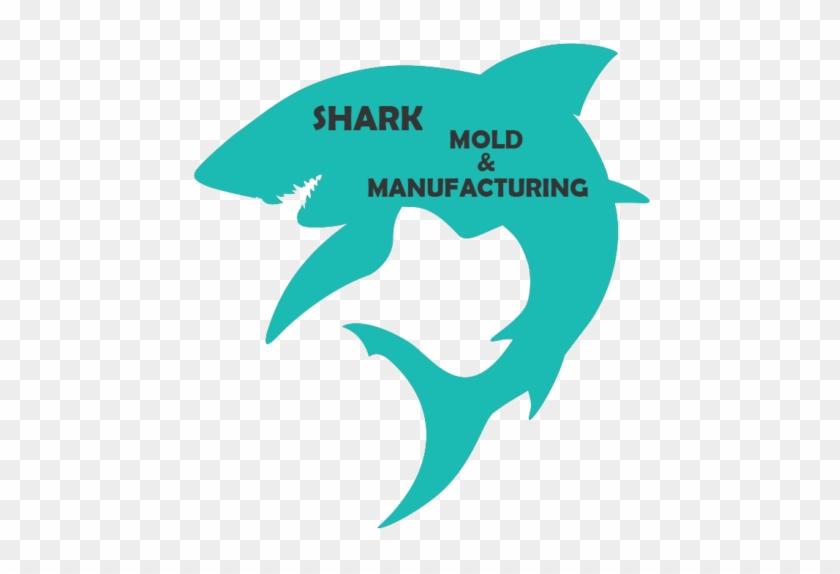 Max Shark Mold Hand Model Modeling - Silhouette Of A Shark #351343