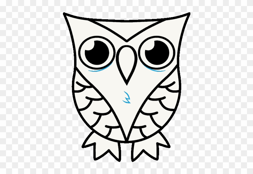 Owl Pictures To Draw How To Draw A Cartoon Owl In A Owl Drawing Free Transparent Png Clipart Images Download