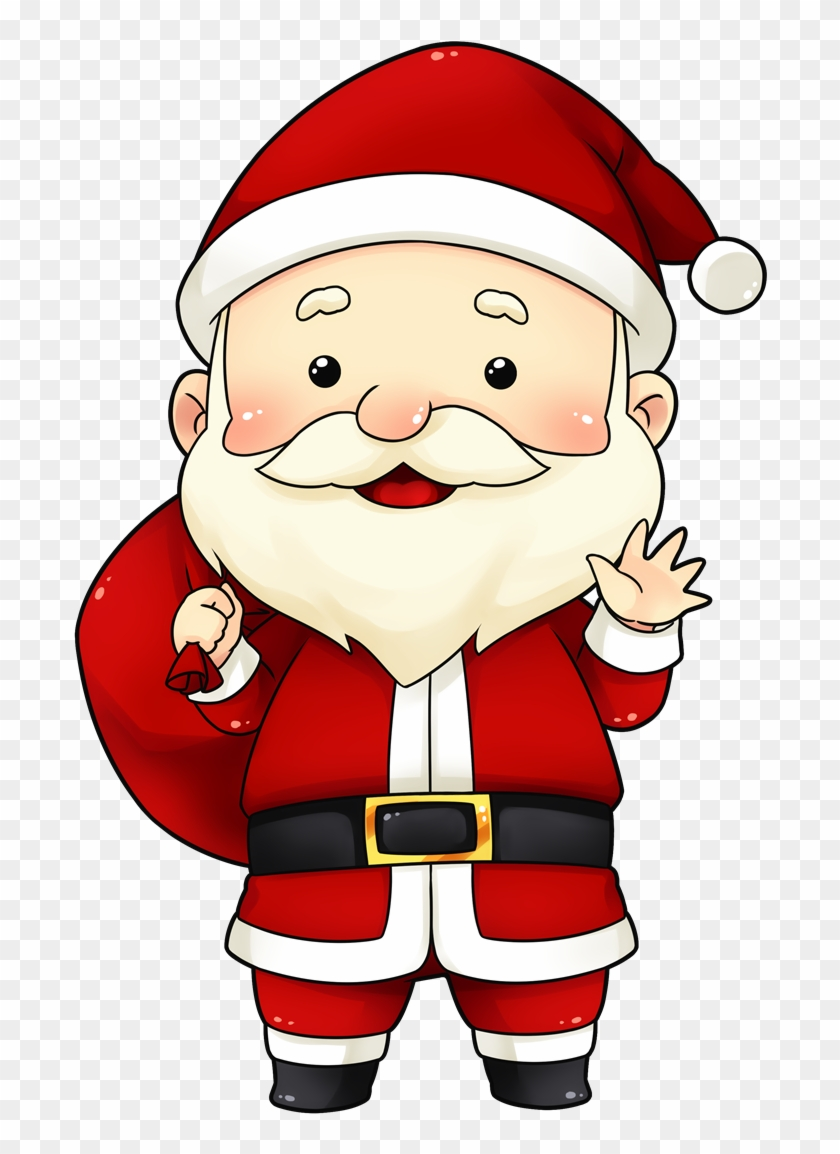 You Can Use This Cute And Adorable Santa Clip Art On Cute Santa