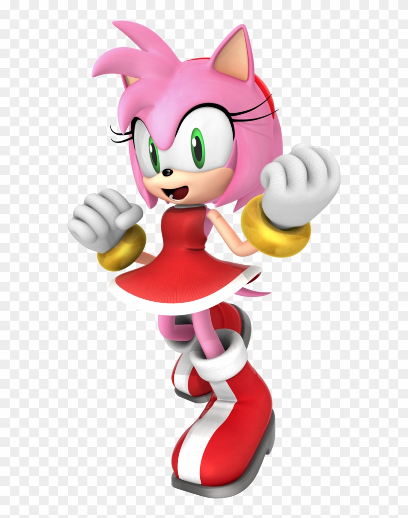 amy team rose 1 4 by nibroc rock sonic the hedgehog characters