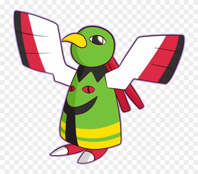 Flying Type Pokemon Wallpaper Images - Green Flying Type Pokemon #351950