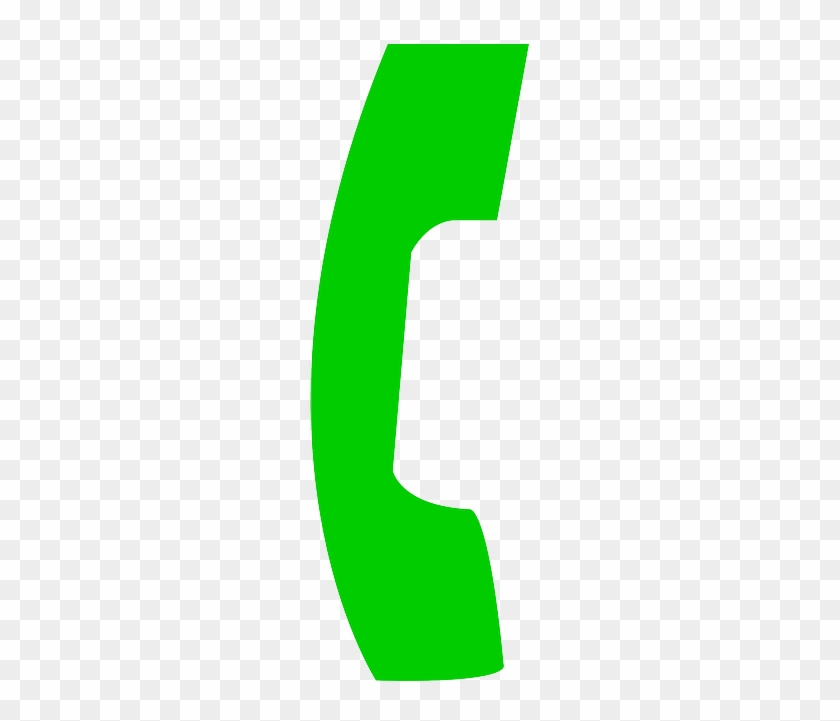 Phone, Icon, Wireless, Cell, Telephone, Free, Number - Green Call Phone Icon #352113