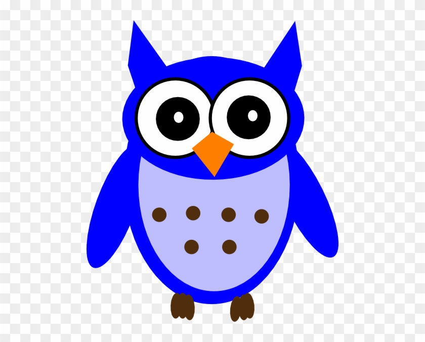 Blue Owl Clipart - Owl Clipart Baby Shower Girl Baby Owls #352150