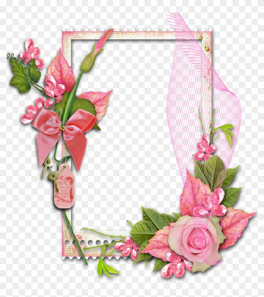 Picture Frames Flower Garden Roses Decorative Arts - Transparent ...