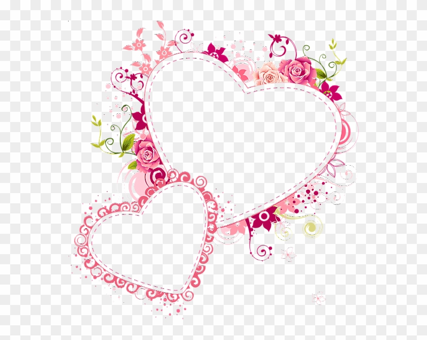 Heart Frame Transparent - Heart Frame Transparent Background #352247