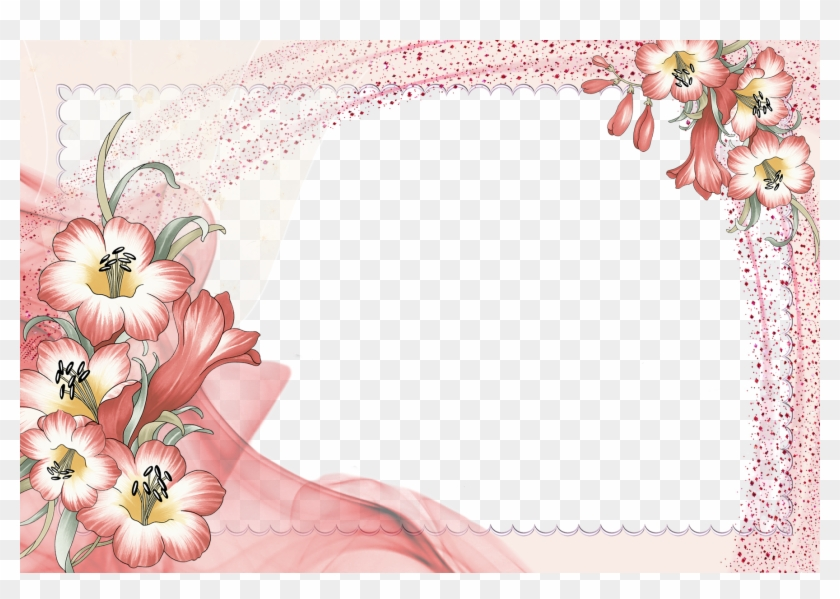 Border Wallpapers - Flower Borders And Frames #352279