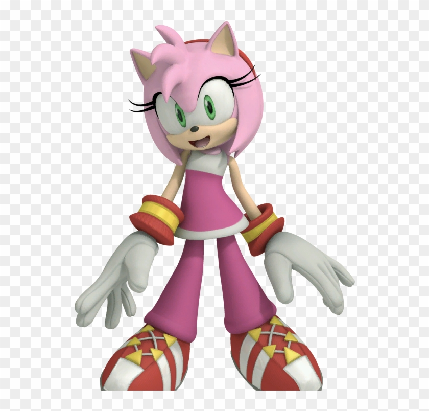 Free Rose Pictures - Amy Rose Sonic Boom Png #352434