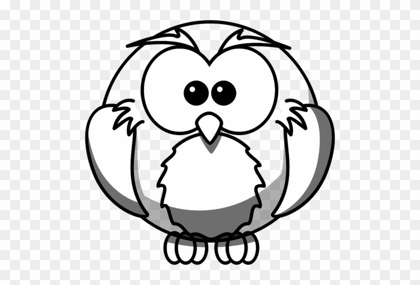 Owl Line Art Vector Illustration Public Domain Vectors Easy Wolf