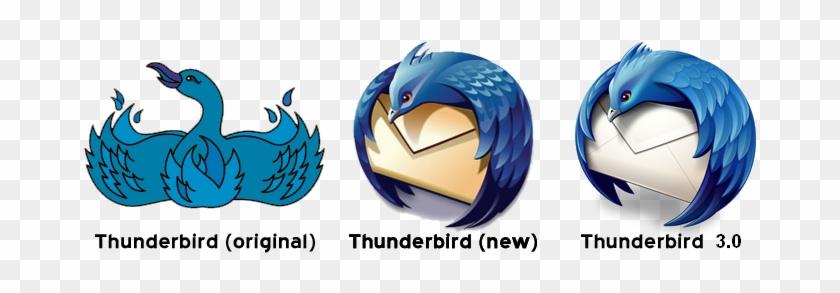 Mozilla Thunderbird Logo History - Mozilla Firefox Old Logo #352549