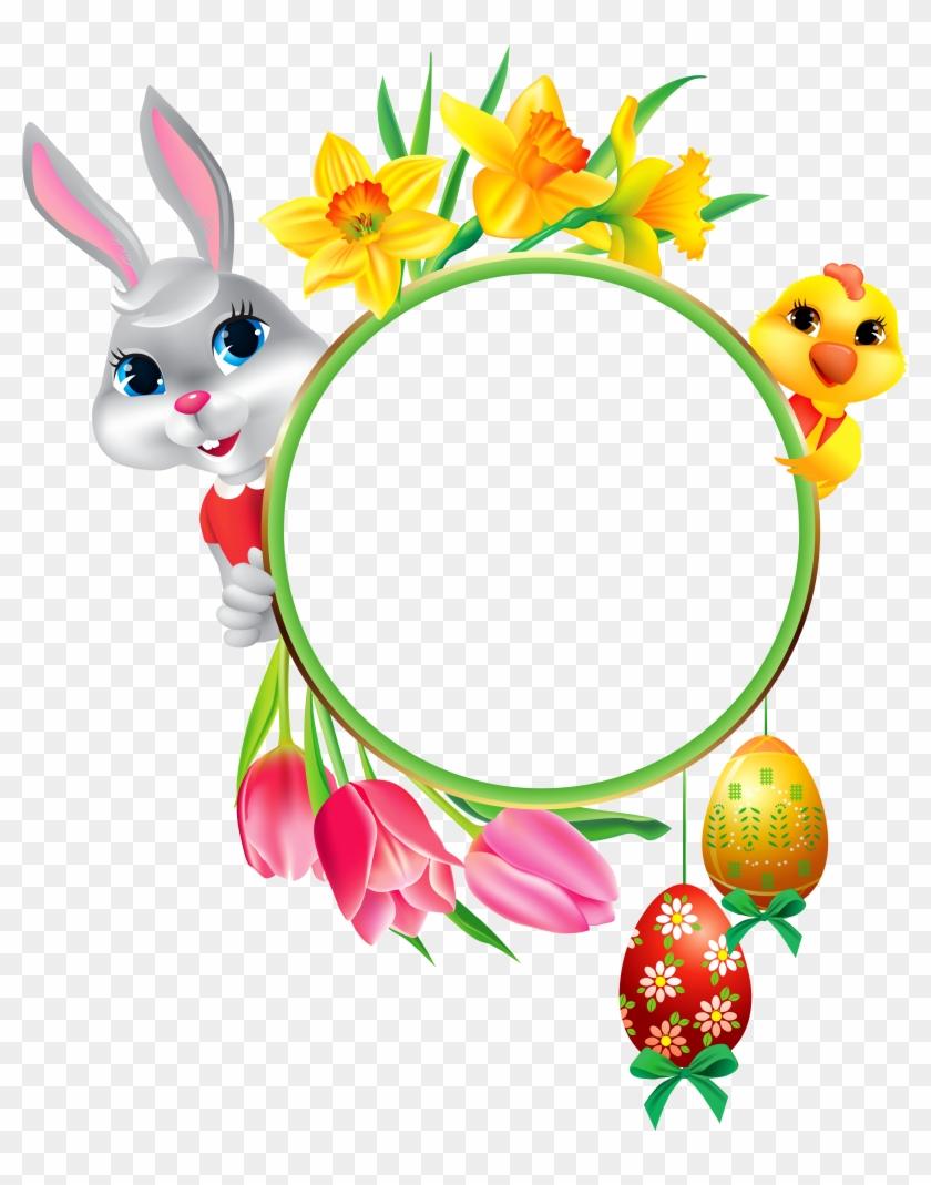 Easter Frames - Free Transparent PNG Clipart Images Download