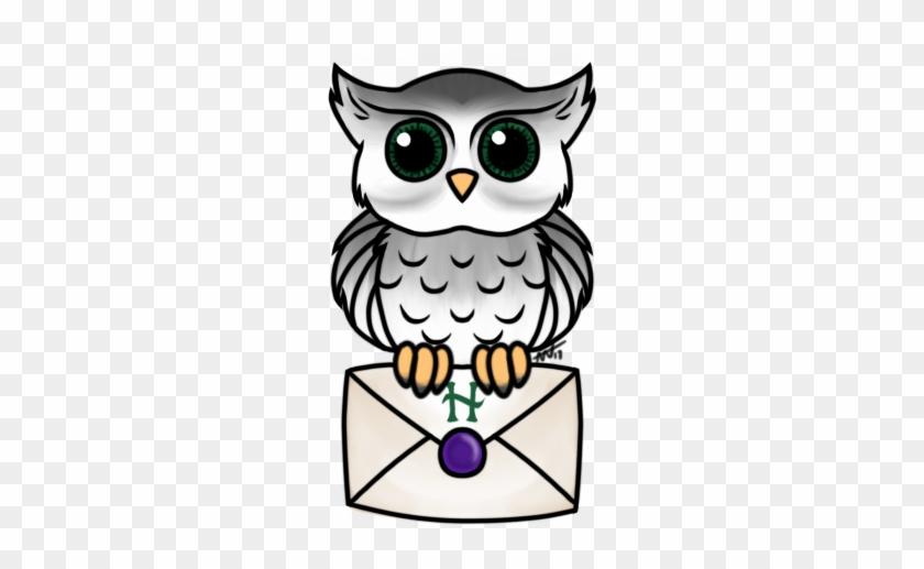 Hogwarts Owl Tattoo Design By Thefoxfeatherz Drawing Free