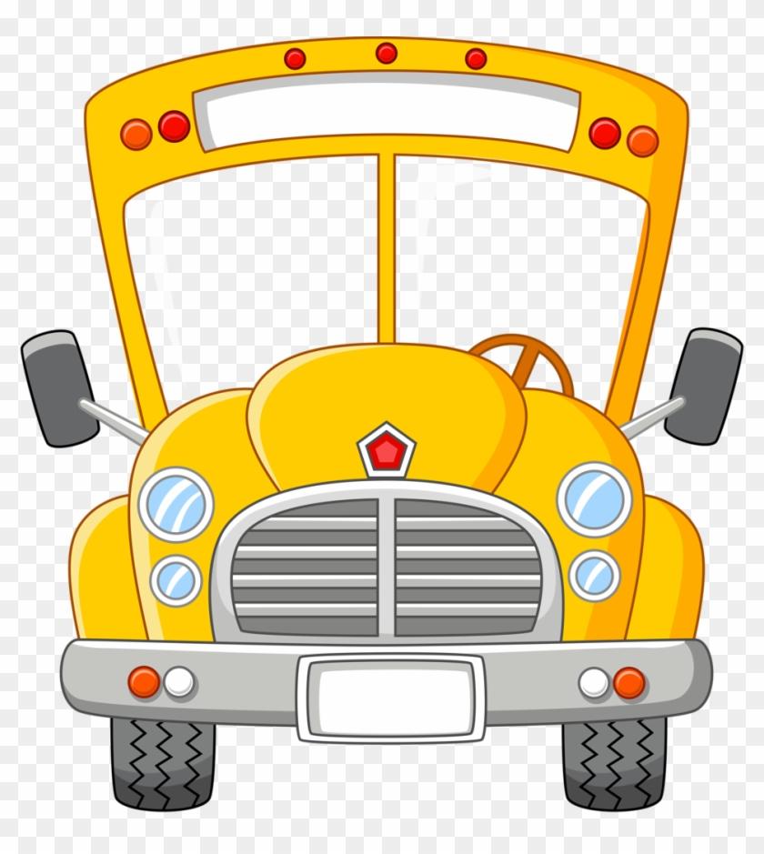 46 School Buses Clipart Images - School Bus Vector #352737