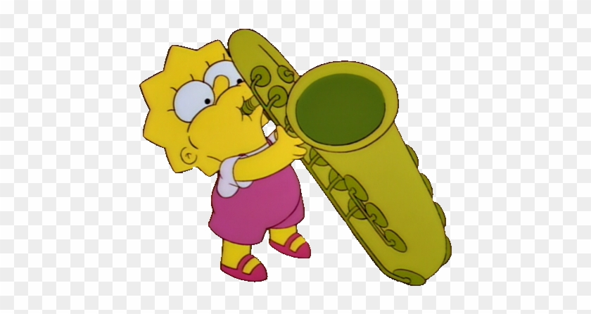 Krabappel Te Advierto Que Tú Serás Mi Próxima Victima, - Lisa Simpson Saxofon #353018