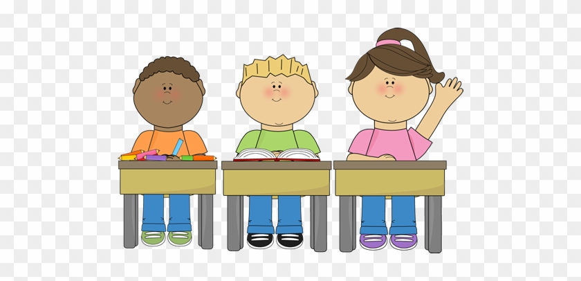 Quiet School Cliparts - Paying Attention In Class Clipart #353214