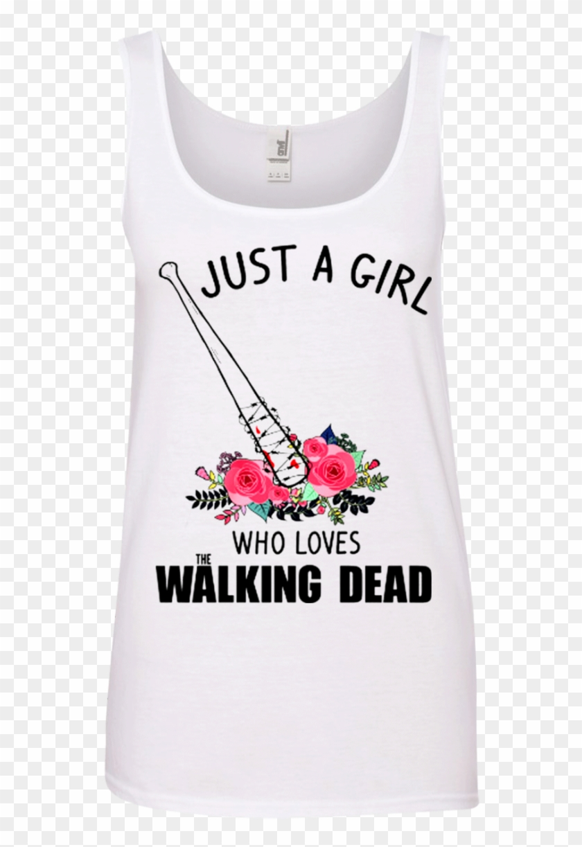 Just A Girl Who Loves The Walking Dead T Shirt Hoodie - Employee Of The Month Parking #353670