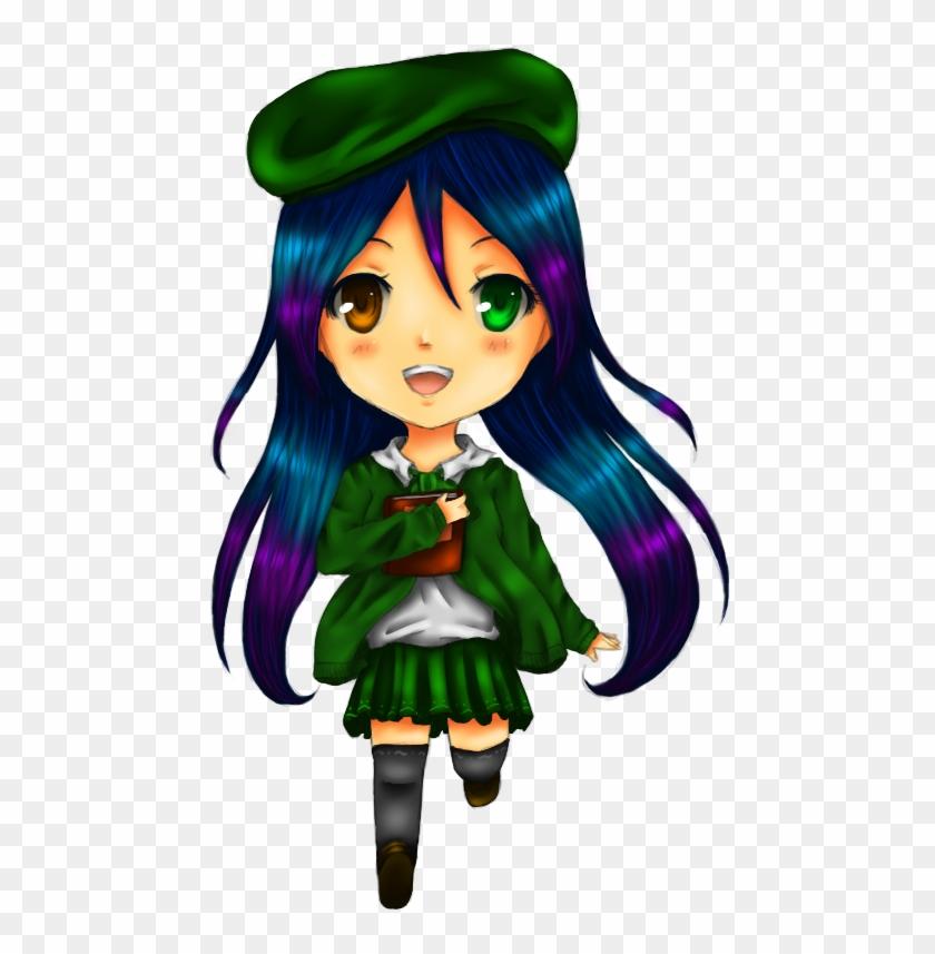 Chibi School Girl Drawing - Anime Oc Chibi School #353766
