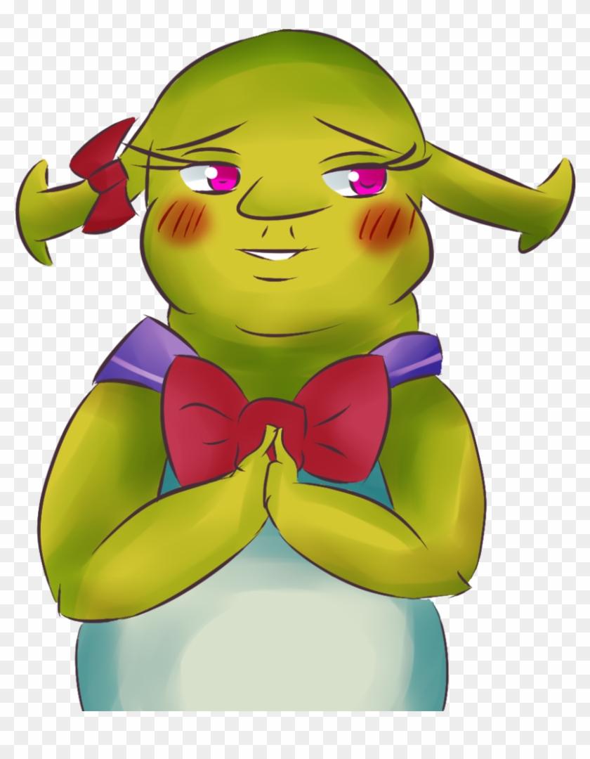 Youtube Anime Shrek Film Series Drawing Shrek Anime Girl Free Transparent Png Clipart Images Download